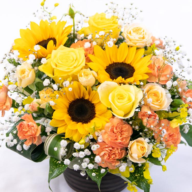 花 アレンジメントの写真