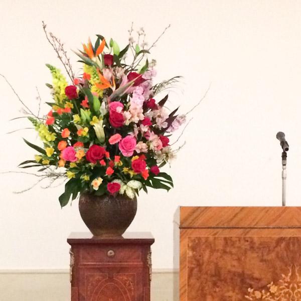 入学式卒園式の盛花