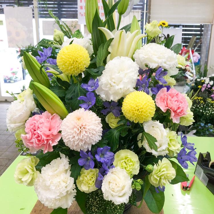 大きいサイズのお供え花